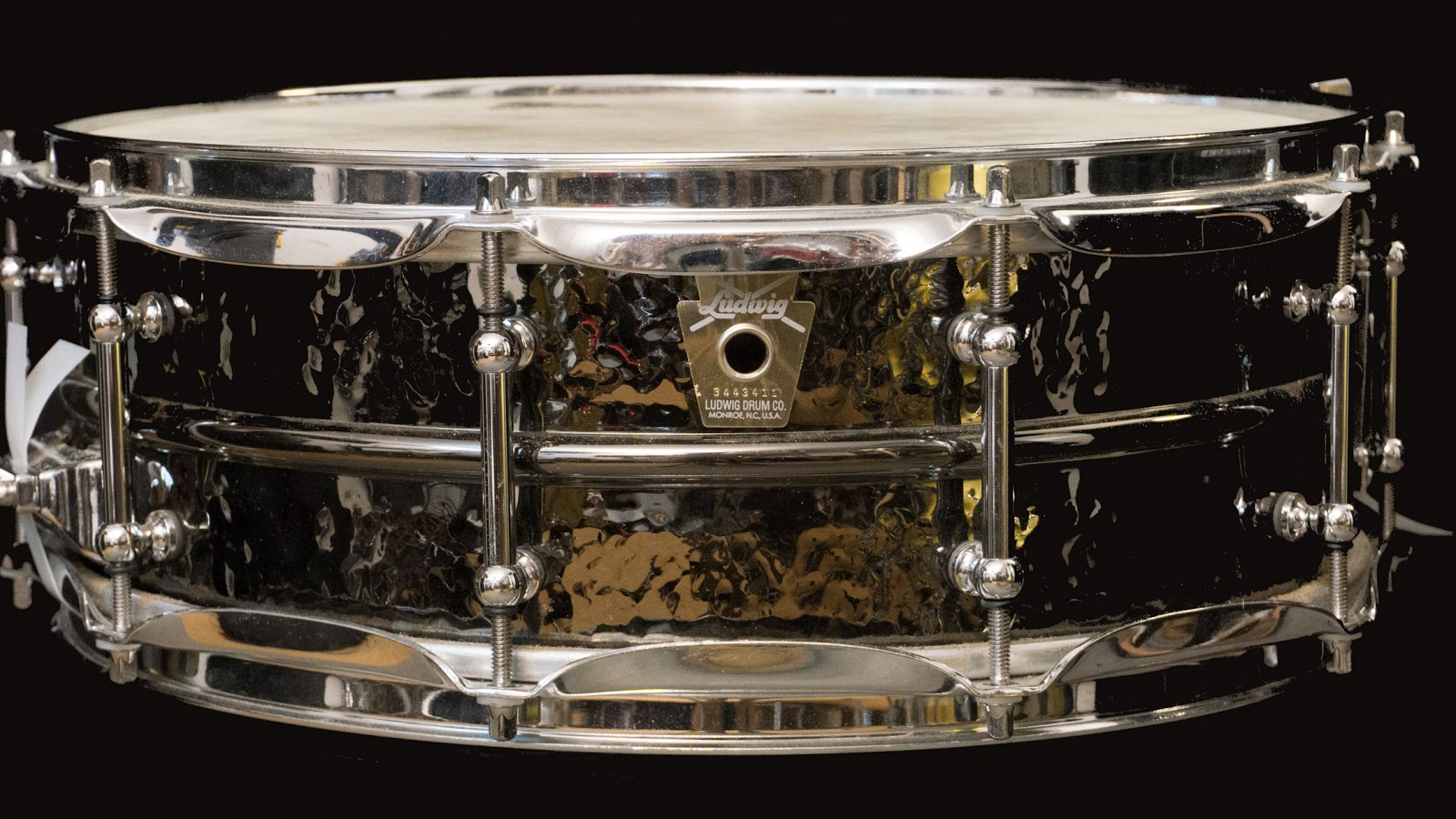 Caja Ludwig Black Beauty 14x5 Hand Hammered