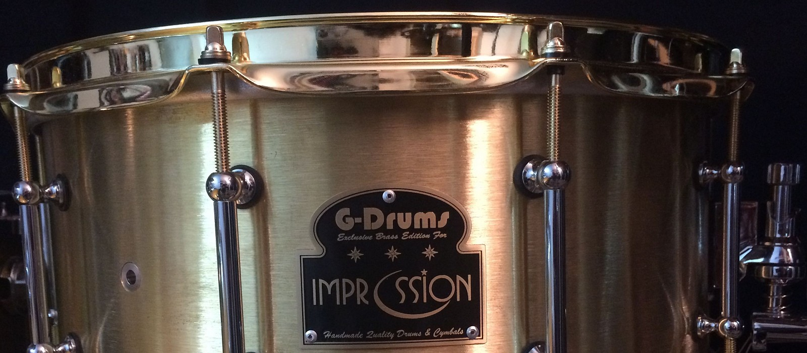 Caja Impression/G-Drums Luxury Brass 14x6´5